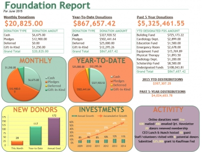 Foundation Activity Report